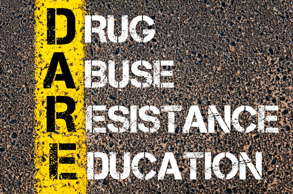 the drug abuse resistance education program Drug abuse resistance education (dare) founded in 1983 in los angeles, california, the drug abuse resistance program (dare) is a police officer-led series of lessons that teaches kids how to resist peer pressure and live drug and violence-free.